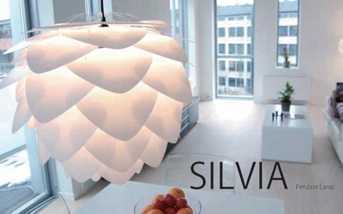 VITA SILVIA 照明 ペンダントライト(シーリングライト)3灯 コードカラー ホワイト【ECJ】