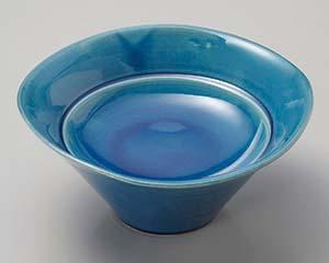 【まとめ買い10個セット品】和食器 ツ022-087 藍釉 スタンドプレート【キャンセル/返品不可】【ECJ】