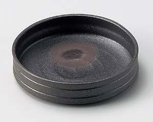 【まとめ買い10個セット品】和食器 ト027-036 炭化黒切立鉢 【キャンセル/返品不可】【ECJ】