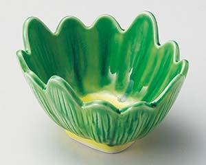 【まとめ買い10個セット品】和食器 ミ050-086 軟解釉菊型小鉢 【キャンセル/返品不可】【ECJ】