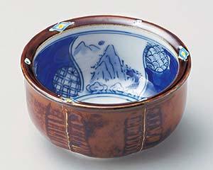 【まとめ買い10個セット品】和食器 ミ051-026 菱紋山水3.6小鉢 【キャンセル/返品不可】【ECJ】