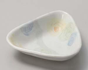 【まとめ買い10個セット品】和食器 ミ054-026 フェアリー三角4.0皿 【キャンセル/返品不可】【ECJ】