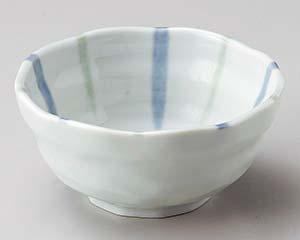 和食器 ヤ069-496 青磁十草3.8小鉢