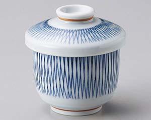 和食器 カ109-256 格子十草京型むし碗
