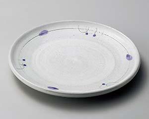 【まとめ買い10個セット品】和食器 オ171-176 ボルドー8.0天皿 【キャンセル/返品不可】【ECJ】