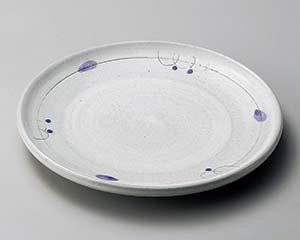 【まとめ買い10個セット品】和食器 オ171-187 ボルドー7.0皿【キャンセル/返品不可】【ECJ】