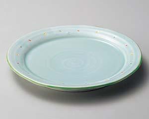 【まとめ買い10個セット品】和食器 ミ174-356 ウォーターブルー6.0皿 【キャンセル/返品不可】【ECJ】