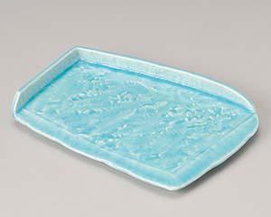 【まとめ買い10個セット品】和食器 ミ194-057 湖水屏風型前菜皿【キャンセル/返品不可】【ECJ】