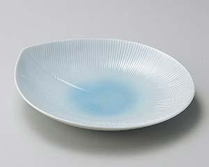 【まとめ買い10個セット品】和食器 タ197-217 淡青モアパスタ皿【キャンセル/返品不可】【ECJ】