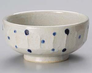 【まとめ買い10個セット品】和食器 ユ320-366 藍水玉彫り6.0鉢 【キャンセル/返品不可】【ECJ】