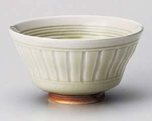 【まとめ買い10個セット品】和食器 ユ355-026 灰釉反茶碗 【キャンセル/返品不可】【ECJ】