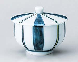 【まとめ買い10個セット品】和食器 ア380-067 色十草蓋付煎茶【キャンセル/返品不可】【ECJ】