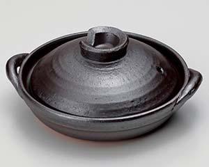 【まとめ買い10個セット品】和食器 ス406-247 鉄釉6号陶板【キャンセル/返品不可】【ECJ】