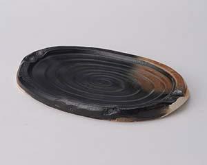 【まとめ買い10個セット品】和食器 ス407-296 耐熱(手造り)ステーキ陶板 【キャンセル/返品不可】【ECJ】