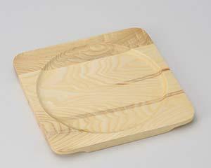 【まとめ買い10個セット品】和食器 ワ413-227 白木正角木台Iφ220【キャンセル/返品不可】【ECJ】