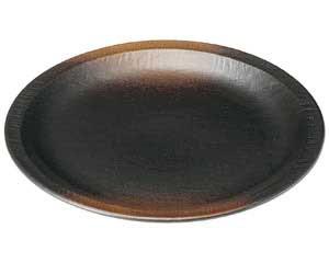 【まとめ買い10個セット品】和食器 ウ454-246 尺丸皿(リム付) 【キャンセル/返品不可】【ECJ】