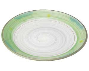 【まとめ買い10個セット品】和食器 ミ467-227 新緑 丸7.0皿【キャンセル/返品不可】【ECJ】