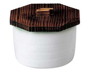 【まとめ買い10個セット品】和食器 ネ353-057 新ひわ流し飯器木蓋付【キャンセル/返品不可】【ECJ】