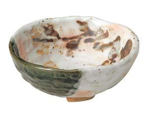 【まとめ買い10個セット品】和食器 ツ490-337 白タタキサビ木 ロクロ目小鉢【キャンセル/返品不可】【ECJ】