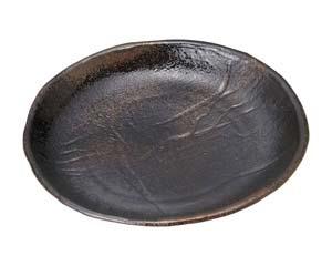 【まとめ買い10個セット品】和食器 ス491-637 琥珀 9号丸皿【キャンセル/返品不可】【ECJ】