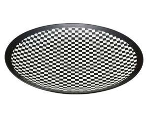 【まとめ買い10個セット品】ア526-157 E-スクエアブラック28.5cm皿【キャンセル/返品不可】【ECJ】