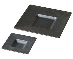 【まとめ買い10個セット品】カ525-027 鉄釉プリムプレートM【キャンセル/返品不可】【ECJ】
