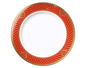 【まとめ買い10個セット品】和食器 ホ538-196 ドンチーレッド9吋皿 【キャンセル/返品不可】【ECJ】