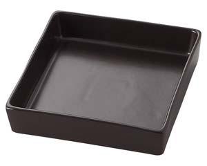 【まとめ買い10個セット品】ラ545-557 TUBE BLACK 16cm角鉢【キャンセル/返品不可】【ECJ】