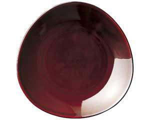 【まとめ買い10個セット品】ト589-077 トライアングル アメ9吋皿【キャンセル/返品不可】【ECJ】