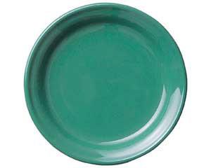 【まとめ買い10個セット品】ト588-017 ピアット グリーン7 1/2吋皿【キャンセル/返品不可】【ECJ】