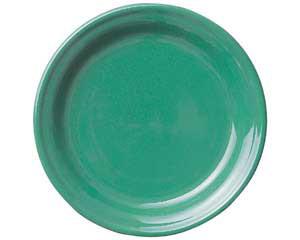 【まとめ買い10個セット品】ト588-077 ピアット グリーン9吋皿【キャンセル/返品不可】【ECJ】