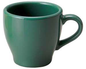 【まとめ買い10個セット品】和食器 ト580-706 グリーンコーヒー碗 【キャンセル/返品不可】【ECJ】