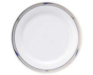 【まとめ買い10個セット品】ヤ580-547 ブルーウェーブ 10吋ディナー皿【キャンセル/返品不可】【ECJ】