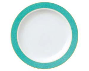 【まとめ買い10個セット品】ホ591-037 エメラルドグリーン 9吋ミート皿【キャンセル/返品不可】【ECJ】