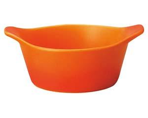 【まとめ買い10個セット品】和食器 ハ598-226 16cmソースポット ベイクオレンジ 【キャンセル/返品不可】【ECJ】