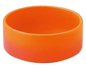 【まとめ買い10個セット品】和食器 ハ598-256 深型ソースディッシュ オレンジ 【キャンセル/返品不可】【ECJ】