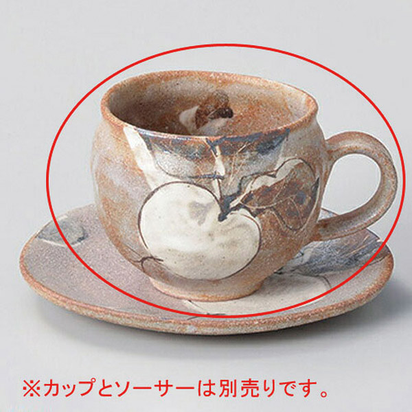 【まとめ買い10個セット品】和食器 ト606-126 鼠志野カブコーヒー碗のみ 【キャンセル/返品不可】【ECJ】