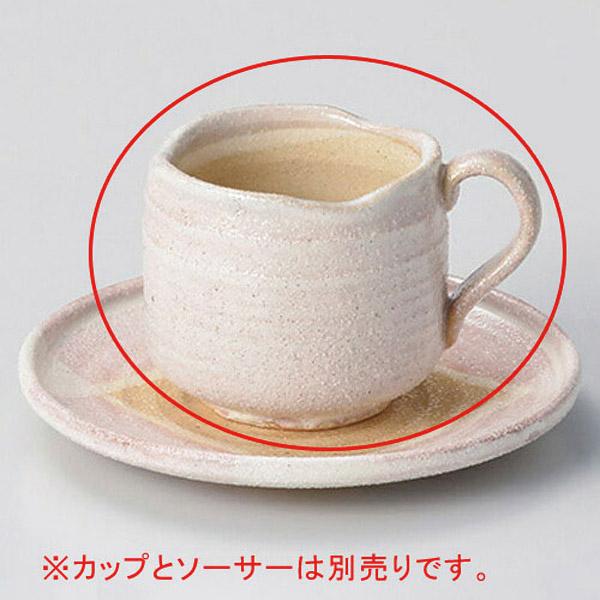 【まとめ買い10個セット品】ロ602-267 桜志野コーヒー碗【キャンセル/返品不可】【ECJ】