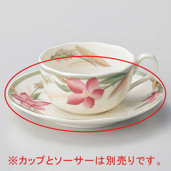 【まとめ買い10個セット品】和食器 ホ610-346 マドレーヌ紅茶碗と受皿 【キャンセル/返品不可】【ECJ】