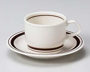 【まとめ買い10個セット品】和食器 ウ611-076 茶筋紅茶碗と受皿 【キャンセル/返品不可】【ECJ】