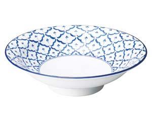 【まとめ買い10個セット品】和食器 ハ648-156 モア8.0丸高台皿 【キャンセル/返品不可】【ECJ】