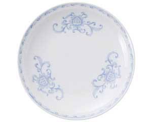 【まとめ買い10個セット品】ツ661-197 青白磁ひるがの 7.0皿【キャンセル/返品不可】【ECJ】