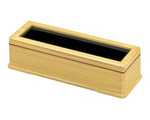 【まとめ買い10個セット品】エ723-287 [A]新箸箱 白木(楊子入無し)【キャンセル/返品不可】【ECJ】
