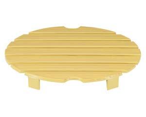 和食器 エ720-176 [A]D.X7.5寸盛込桶用 目皿 白木塗