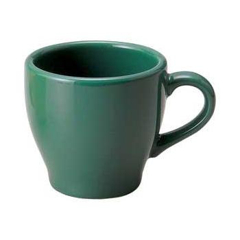 【まとめ買い10個セット品】ト588-207 ピアット グリーンコーヒー碗【キャンセル/返品不可】【ECJ】