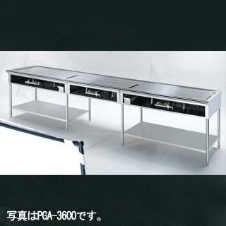 【業務用】大型 ピタット・ステーキ PSA-4800(8人掛) 分割式 4800×600×800【 メーカー直送/後払い決済不可 】