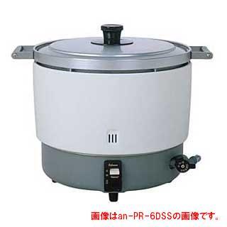【業務用】【 業務用炊飯器 】 パロマ 業務用ガス炊飯器 固定取手付〔PR-6DSS〕