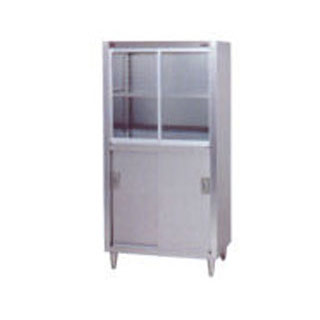 業務用 マルゼン 食器戸棚 BDS-186G 【 厨房機器 】 【 メーカー直送/後払い決済不可 】 【ECJ】