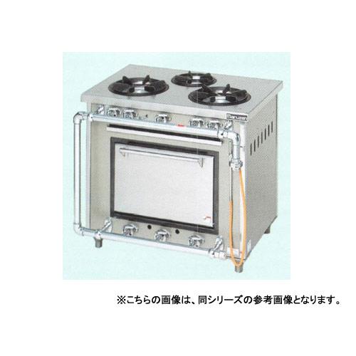 【業務用】マルゼン スタンダードタイプガスレンジ MGR-074DS 750×450×800【 メーカー直送/後払い決済不可 】