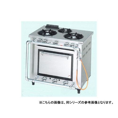 【業務用】マルゼン デラックスタイプガスレンジ MGRD-126TD 1200×600×800【 メーカー直送/後払い決済不可 】